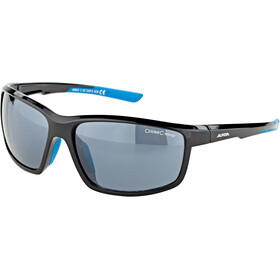 Alpina Defey Okulary, black-cyan/black mirror